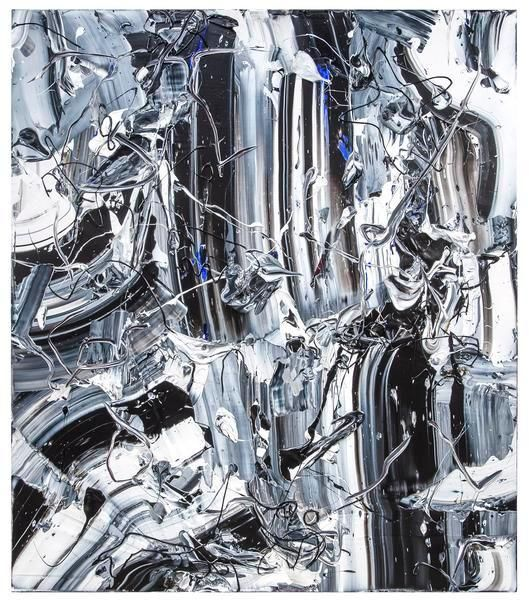 Michael Reafsnyder, Stone Cold, 2015, Acrylic on linen, 60 x 52 inches, 152.4 x 132.1 cm, A/Y#22348