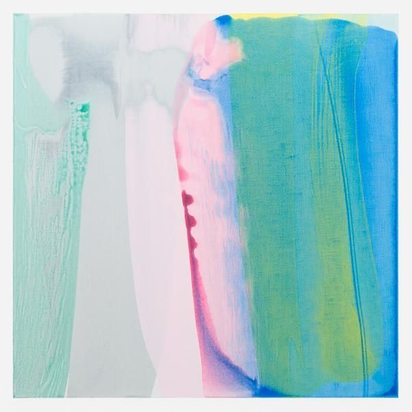 Movements (tides, automatic 3), 2015, Acrylic on linen, 45 x 45 inches, 114.3 x 114.3 cm, AMY#28232