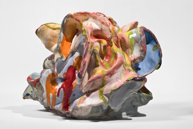 Ned, 2011, Glazed ceramic, 12 x 16 x 14 inches, 30.5 x 40.6 x 35.6 cm, MMG#20004