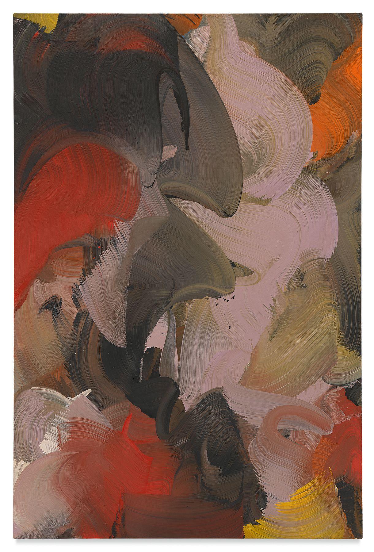 fox's bride,2018,Oil on canvas,59.5 x 39.5 inches,151.1 x 100.3 cm,MMG#30260