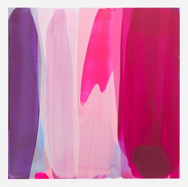 Movements (tides, automatic 1), 2016, Acrylic on linen, 45 x 45 inches, 114.3 x 114.3 cm, AMY#28157