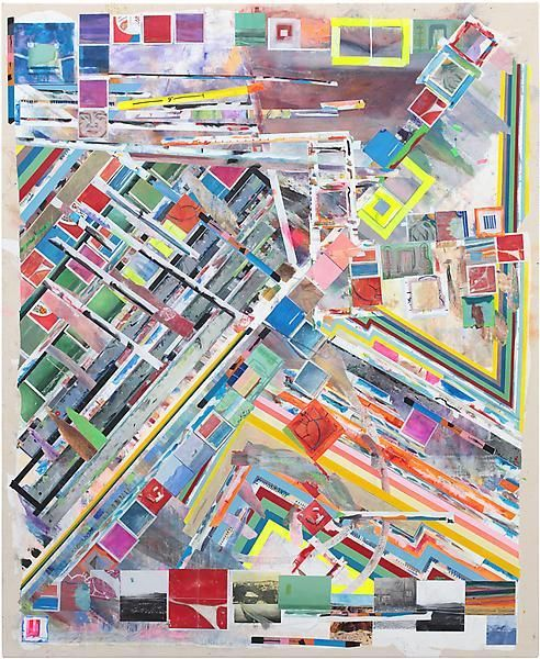 zscape, 2014, Acrylic on canvas, 77 x 63 1/2 inches, 195.6 x 161.3 cm, A/Y#21482