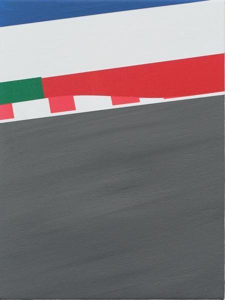 Brian Alfred, Lemans, 2015, Acrylic on canvas, 12 x 9 inches, 30.5 x 22.9 cm, A/Y#22392