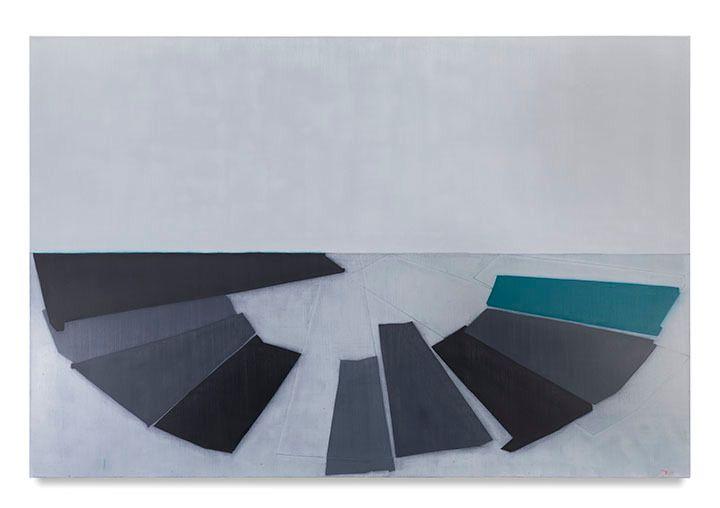 719 (D. Balmori island), 2016, Oil on linen, 60 x 90 inches, 152.4 x 228.6 cm, AMY#28704