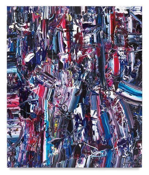 Wild World, 2016, Acrylic on linen, 72 x 60 inches, 182.9 x 152.4 cm, MMG#28716