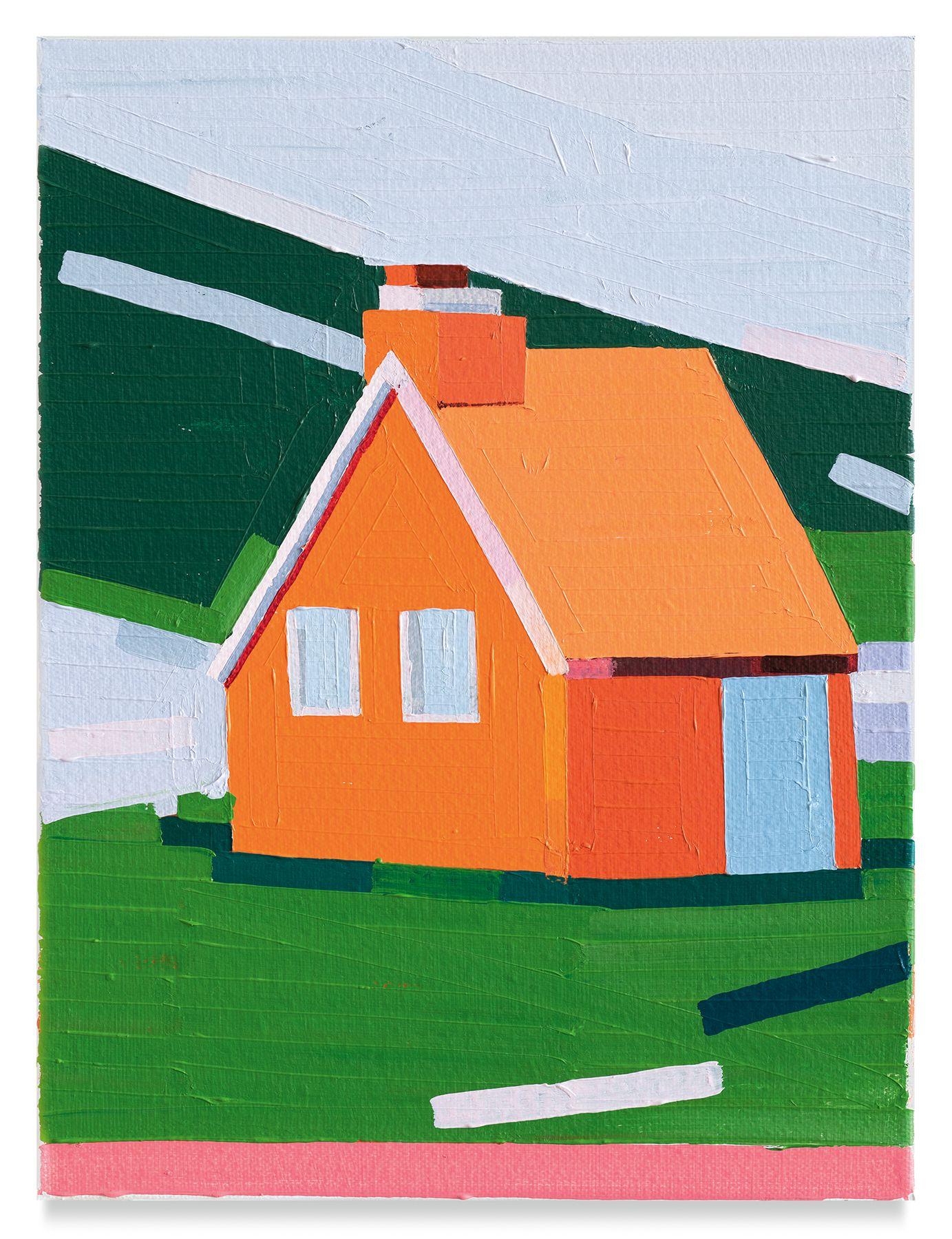 Guy Yanai, Orange House, 2019