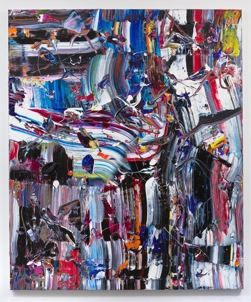 Puff n Fluff, 2016, Acrylic on linen, 72 x 60 inches, 182.9 x 152.4 cm, MMG#28077