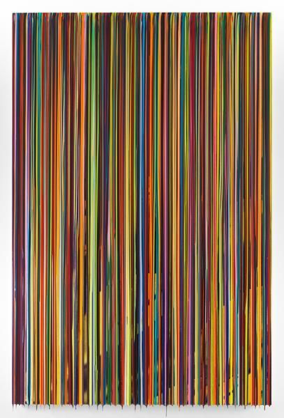 FROMTHEOUTLYINGDISTRICTS, 2016, Epoxy resin and pigments on wood, 90 x 60 inches, 228.6 x 152.4 cm, AMY#28453