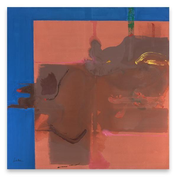 Rio Grande, 1987, Acrylic on canvas, 72 x 72 inches, 182.9 x 182.9 cm, MMG#11632