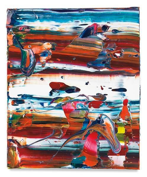 Harvest Stream, 2016, Acrylic on canvas, 18 x 15 inches, 45.7 x 38.1 cm, MMG#28987