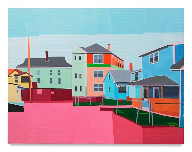 Worcester, 2017, Oil on linen, 55.12 x 70.87 inches, 140 x 180 cm, MMG#29078
