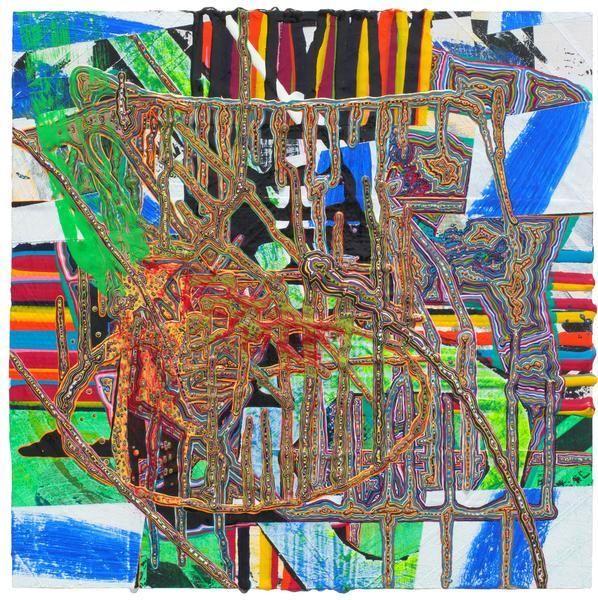 Steven Charles, 1980, 2014, Acrylic on wood, 10 x 10 inches, 25.4 x 25.4 cm, A/Y#21847