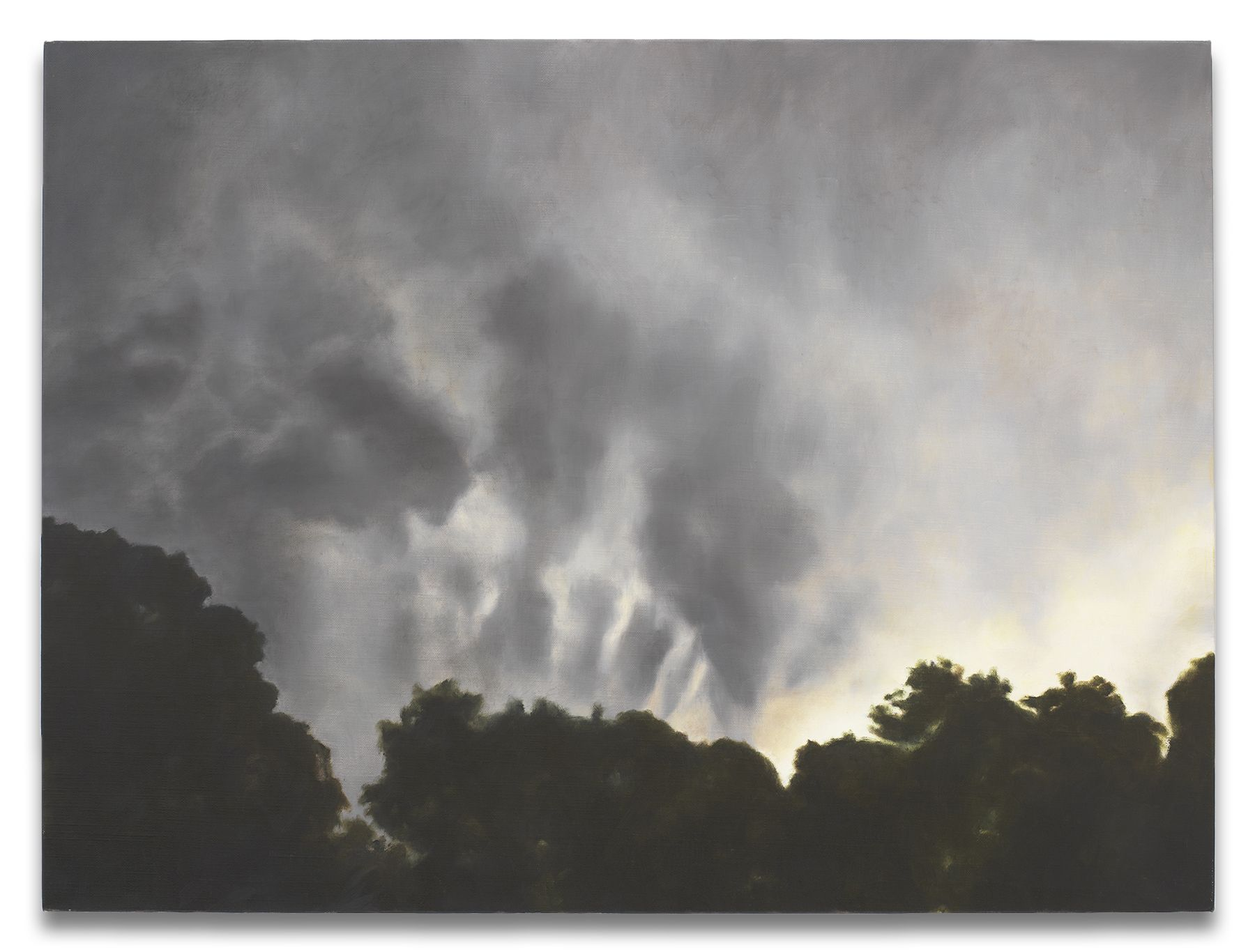 Clouds Shaping Night, 2013,Oil on linen,24 1/4 x 32 inches,61.6 x 81.3 cm,MMG#30403