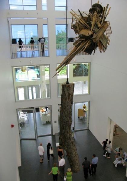 "Installation view, ""Alexander Calder and Contemporary Art: Form, Balance, Joy,"" 26 June - 17 October 2010, Museum of Contemporary Art Chicago, Chicago, IL"