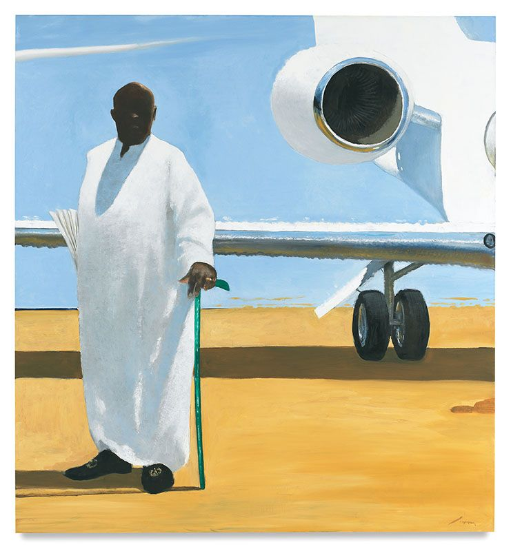 The King, 2015, Oil on canvas, 84 x 78 inches, 213.4 x 198.1 cm, MMG#28063