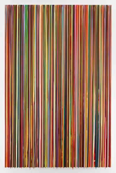 MYWORLDISNOTMYWORLD, 2016, Epoxy resin and pigments on wood, 90 x 60 inches, 228.6 x 152.4 cm, AMY#28434