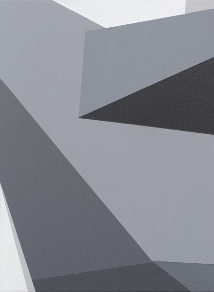 Brian Alfred, Rig, 2015, Acrylic on canvas, 12 x 9 inches, 30.5 x 22.9 cm, A/Y#22393