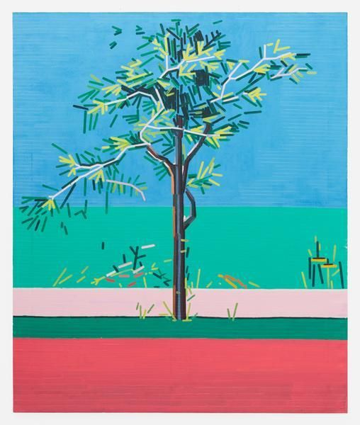 The Old Tree, 2016, Oil on linen, 72.05 x 59.84 inches, 183 x 152 cm, MMG#28260