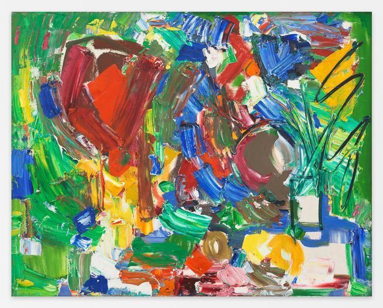 Hans Hofmann, Variation of a Theme, 1954, Oil on canvas, 24 x 30 inches, 61 x 76.2 cm, AMY#16246