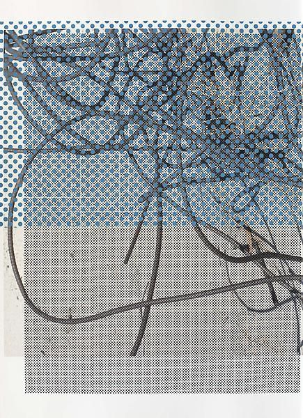 Untitled, 2014, Acrylic and UV cured ink on paper, 29 3/4 x 21 3/4 inches, 75.6 x 55.2 cm, A/Y#21426
