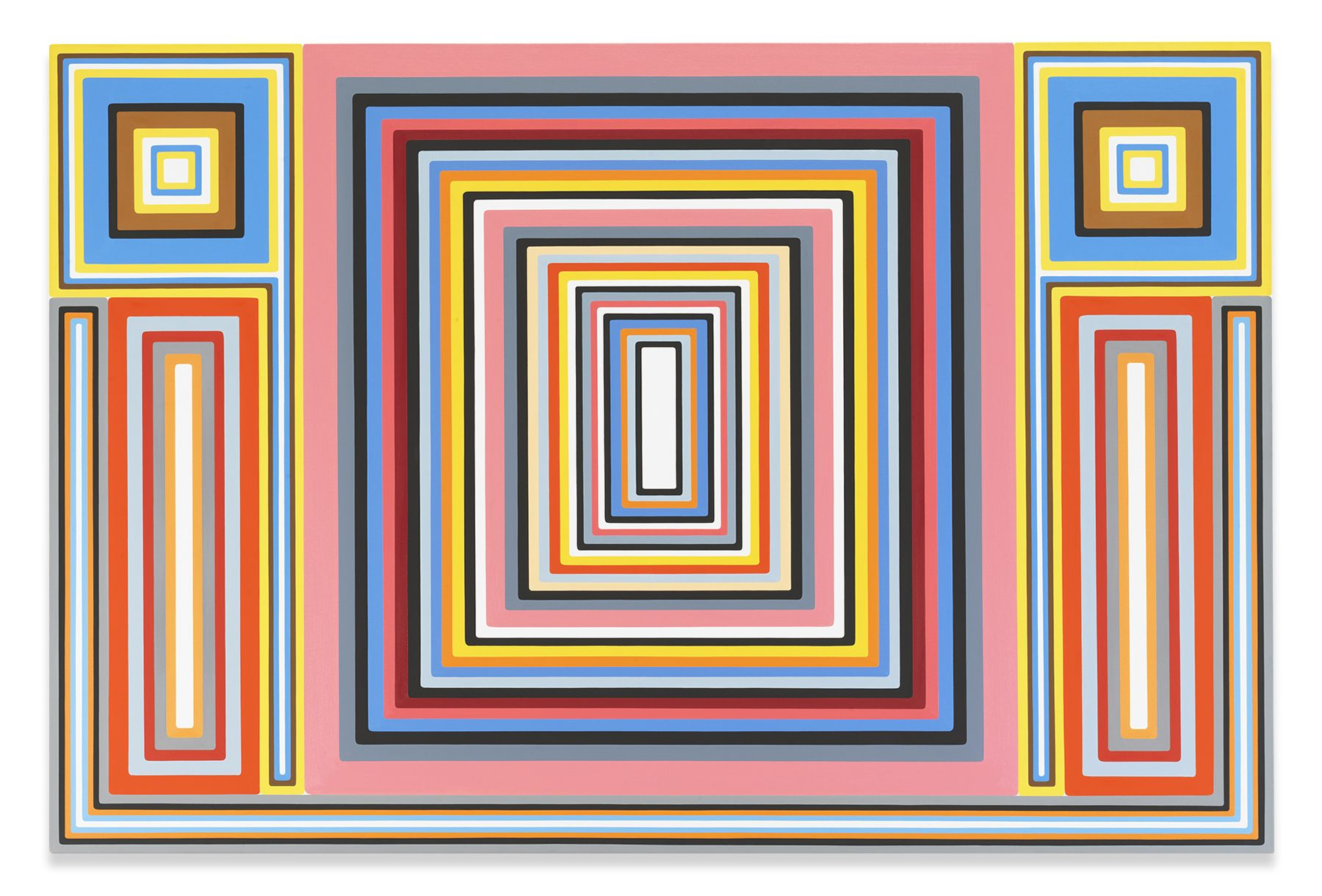 Outer Limits, 2012, Oil on canvas, 48 x 72 1/8 inches, 121.9 x 183.2 cm, MMG#31070