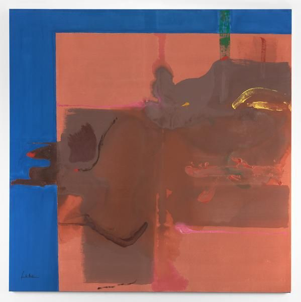 Helen Frankenthaler, Rio Grande, 1987, Acrylic on canvas, 72 x 72 inches, 182.9 x 182.9 cm, AMY#11632