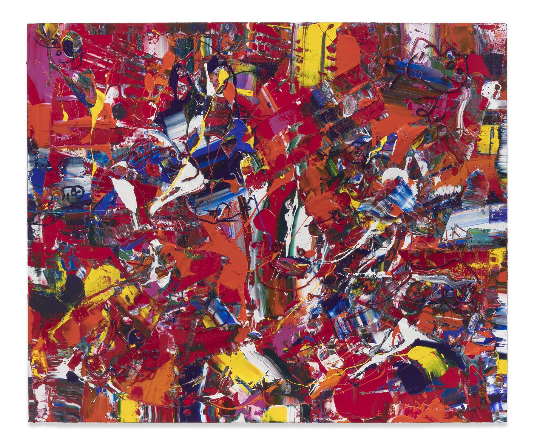 Michael Reafsnyder, Paint Chew, 2019, Acrylic on linen