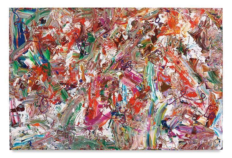 Cajun Spice, 2017, Acrylic on linen, 60 x 90 inches, 152.4 x 228.6 cm, MMG#29146