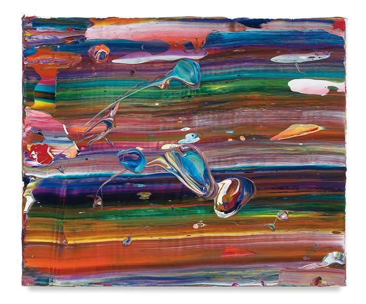 Farrah, 2017, Acrylic on linen, 15 x 18 inches, 38.1 x 45.7 cm, MMG#29052