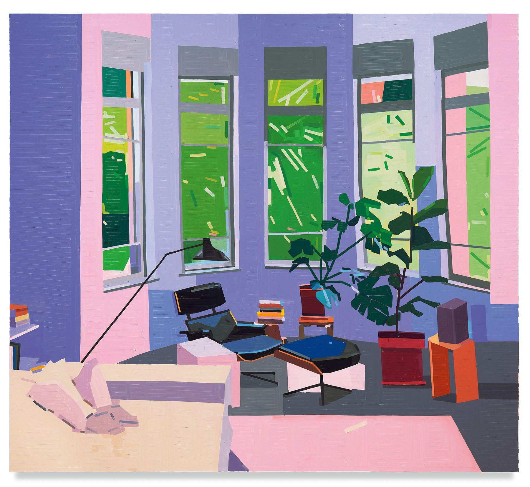 Guy Yanai, Gilboa St Living Room, 2019