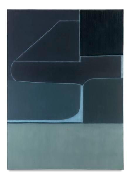 717 (Blue almanac), 2016, Oil on linen, 66 x 48 inches, 167.6 x 121.9 cm, MMG#28702