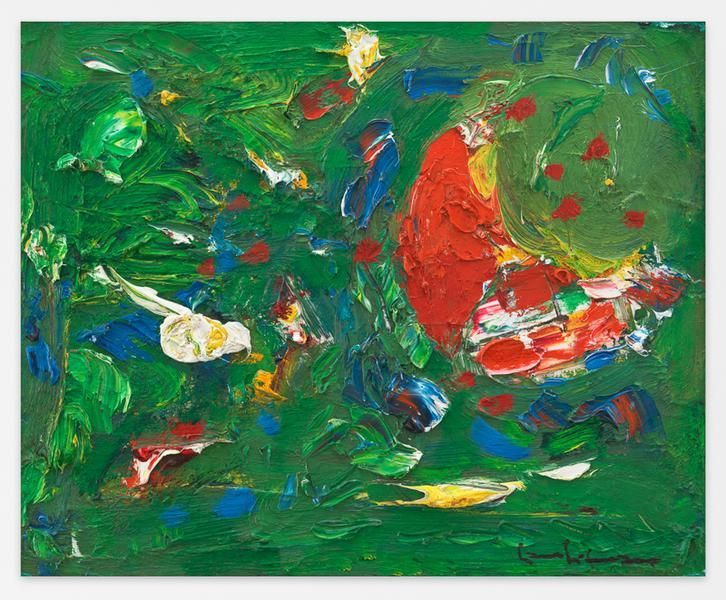 Hans Hofmann, Tropic, 1945, Oil on panel, 22 x 26 1/2 inches, 55.9 x 67.3 cm, AMY#16247