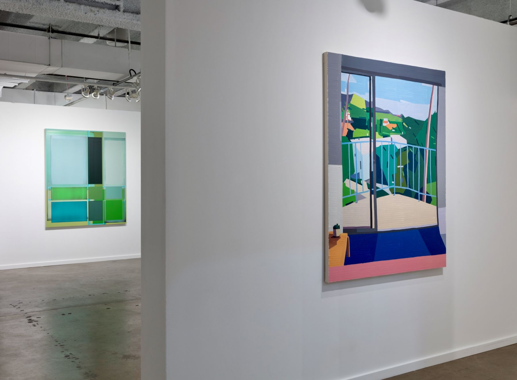 Installation view, Booth #C1, Miles McEnery Gallery, Dallas Art Fair 2019