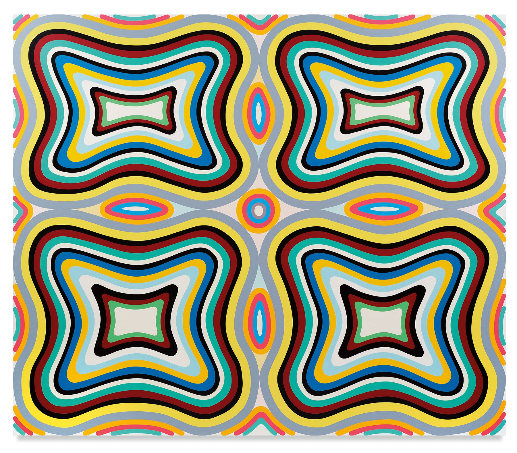 Something Strange, 2020, Oil on canvas, 65 x 76 inches, 165.1 x 193 cm,MMG#32100