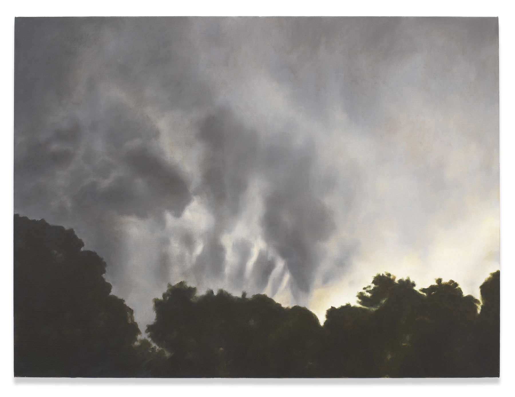 Clouds Shaping Night, 2013, Oil on linen, 24 1/4 x 32 inches, 61.6 x 81.3 cm, MMG#30403