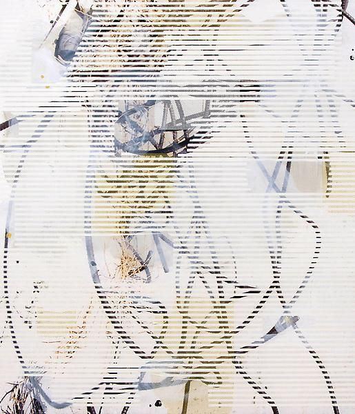 Untitled (rebar 13), 2013, Oil, acrylic, and UV cured ink on canvas over panel, 84 x 72 inches, 213.4 x 182.9 cm, A/Y#21265