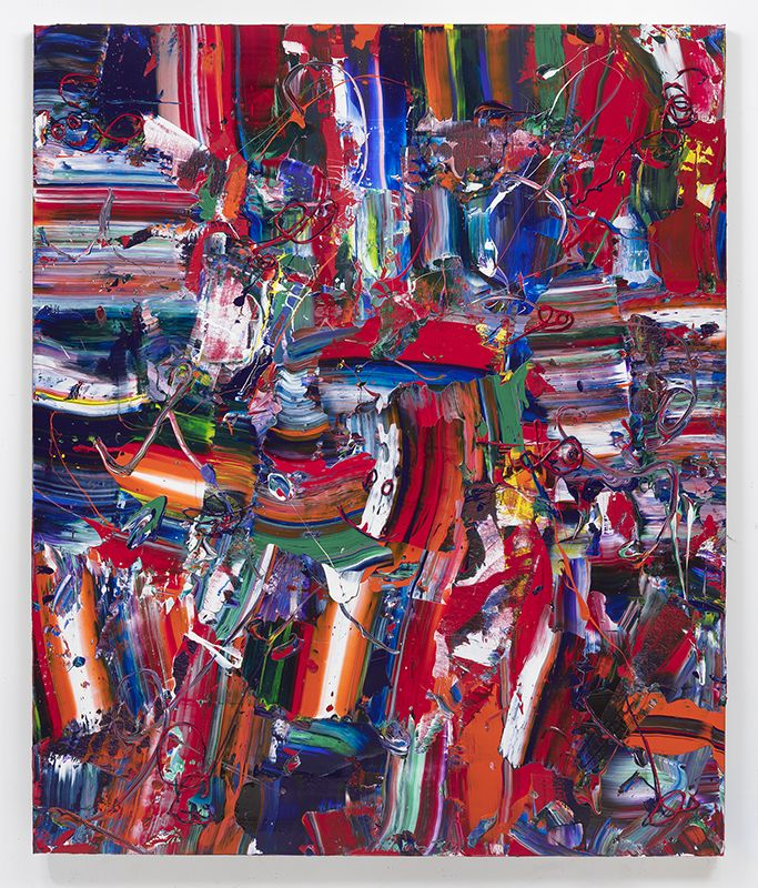 Hot Tamale, 2017, Acrylic on linen, 72 x 60 inches, 182.9 x 152.4 cm, MMG#29694