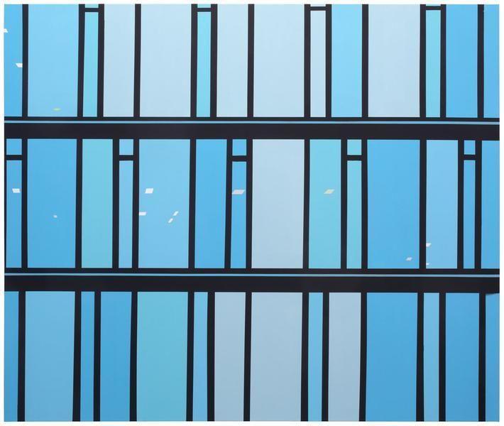 Brian Alfred, Santander, Acrylic on canvas, 76 x 90 inches, 193 x 228.6 cm, A/Y#22179