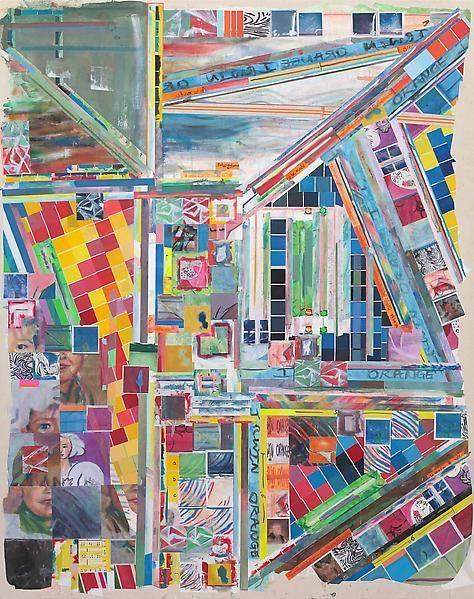 irwinorangeasblue, 2014, Acrylic on canvas, 80 x 63 inches, 203.2 x 160 cm, A/Y#21653