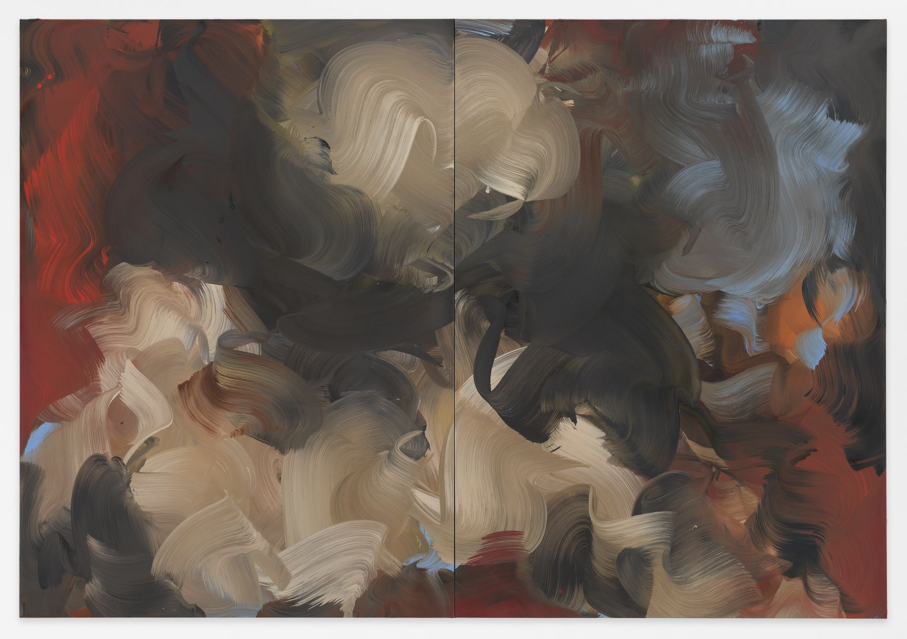 pull + ebb, 2018,Oil on canvas,71 x 102 inches,180.3 x 129.5 cm, MMG#30266