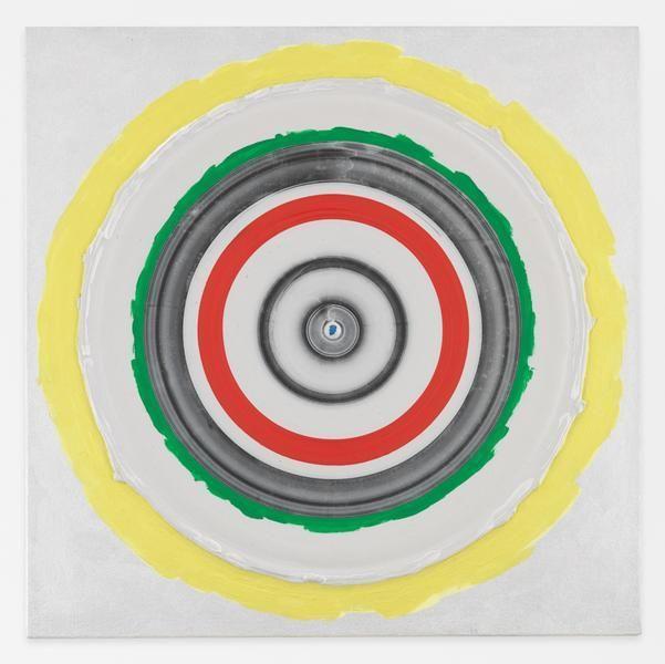 Kenneth Noland, Circle: Bird, 1998, Acrylic on canvas, 24 x 24 inches, 61 x 61 cm, AMY#28504