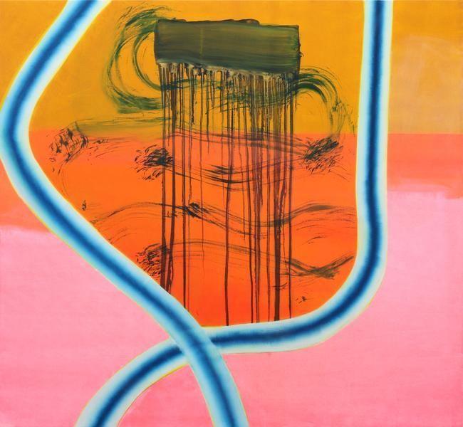 Monique van Genderen, Untitled, 2014, Oil on linen, 60 x 65 inches, 152.4 x 165.1 cm, A/Y#22039