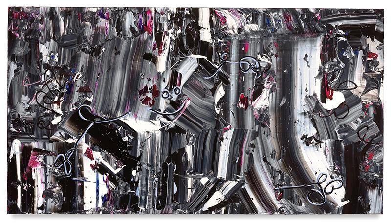 King Kruiser, 2017, Acrylic on linen, 44 x 80 inches, 111.8 x 203.2 cm, MMG#29067