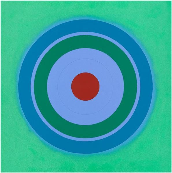 Kenneth Noland, Mysteries: Excavate the Past, 2001, Acrylic on canvas, 48 x 48 inches, 121.9 x 121.9 cm, A/Y#7739