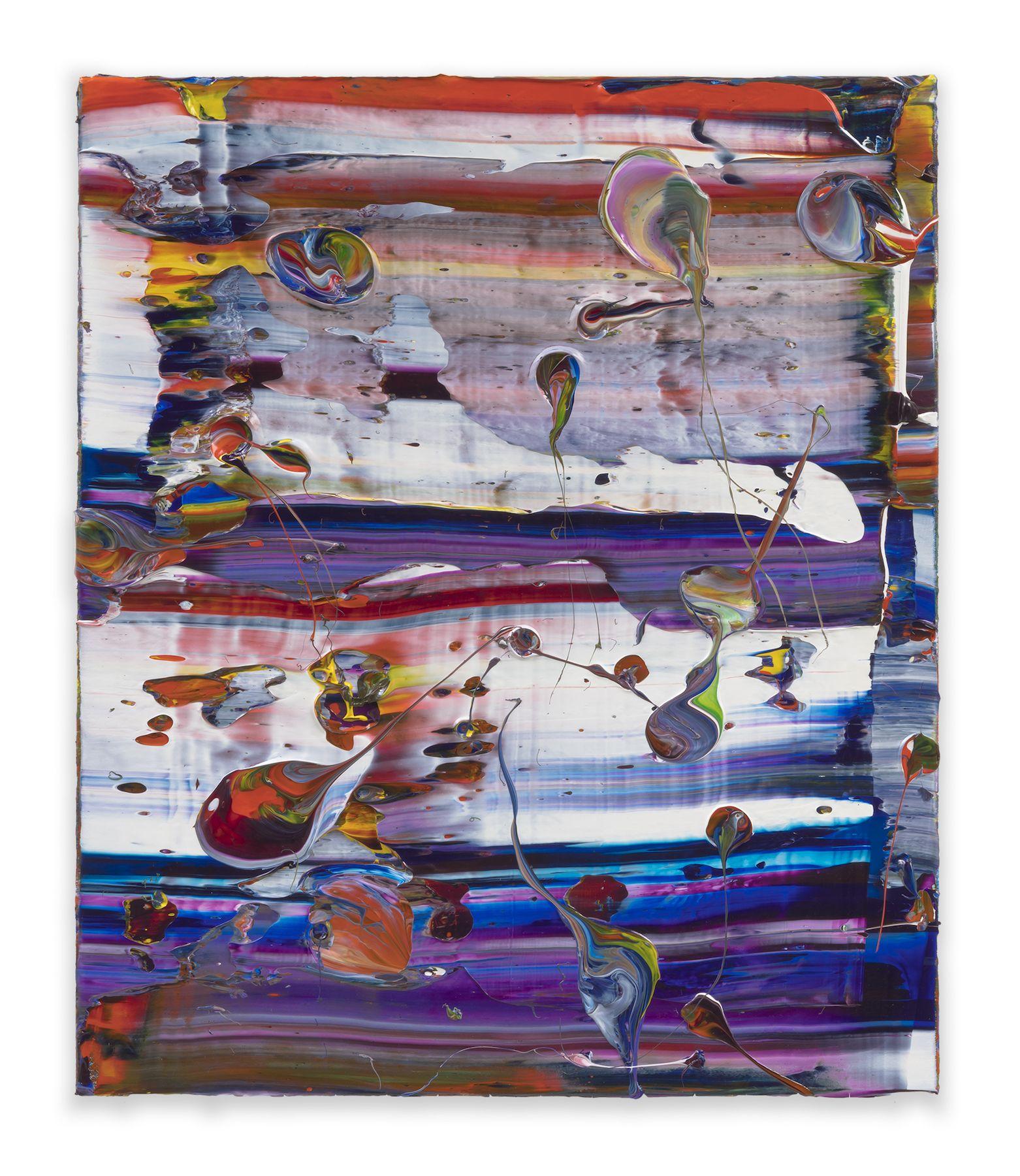 Mashin Mogul, 2018, Acrylic on linen, 26 x 22 inches, 66x 55.9cm, MMG#30226