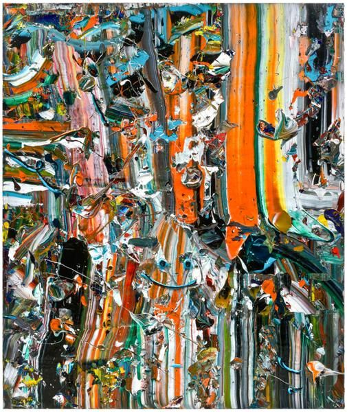 Sherbet Slide, 2013, Acrylic on linen, 72 x 60 inches, 182.9 x 152.4 cm, MMG#21587