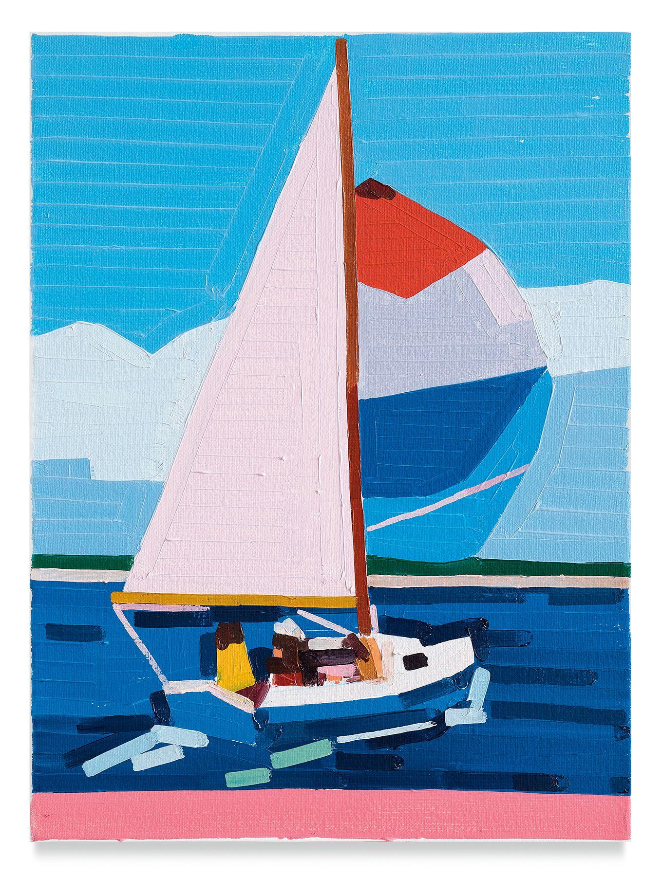 Guy Yanai, Sailing East, 2019