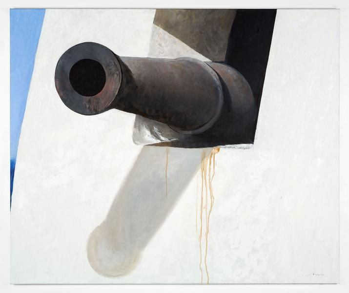 Julio Larraz, Reception Committee, 2014, Oil on canvas, 60 x 72 inches, 152.4 x 182.9 cm, A/Y#22041