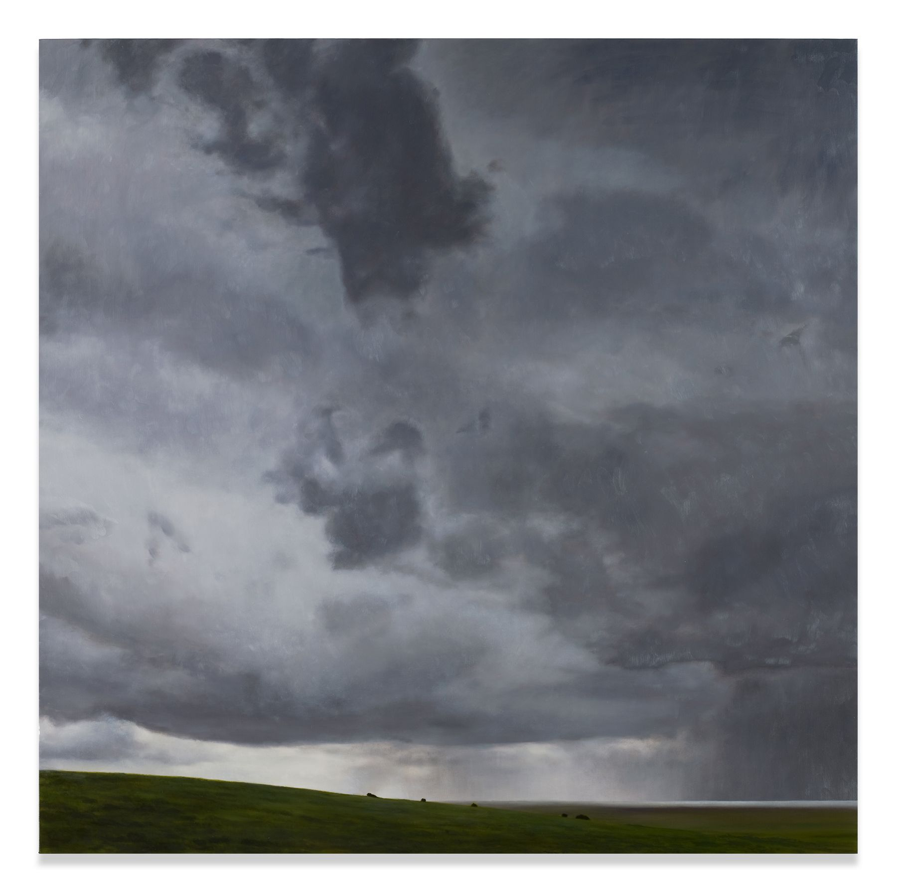The Horizon, 2008, Oil on linen, 76 x 76.25 inches, 193 x 193.7 cm, MMG#30410