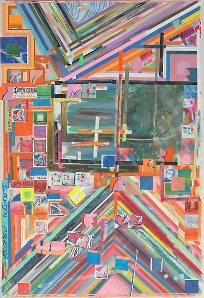irwinorange, 2014, Acrylic on canvas, 78 1/2 x 53 1/2 inches, 199.4 x 135.9 cm, A/Y#21655